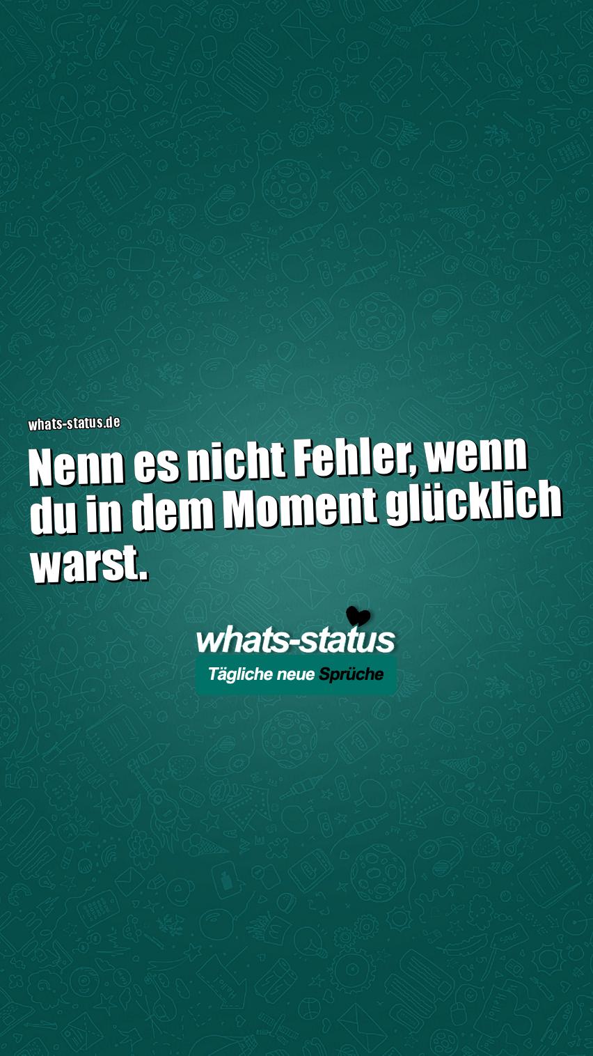 whatsapp status glücklich
